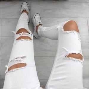 RP Ekattire POLAR distressed soft denim jeans